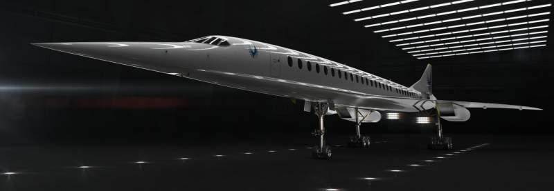 Boom : l'avion de ligne supersonique se concrétise 1