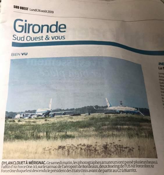 G7 : Récit d'un spotter à l'aéroport de Bordeaux-Mérignac 14