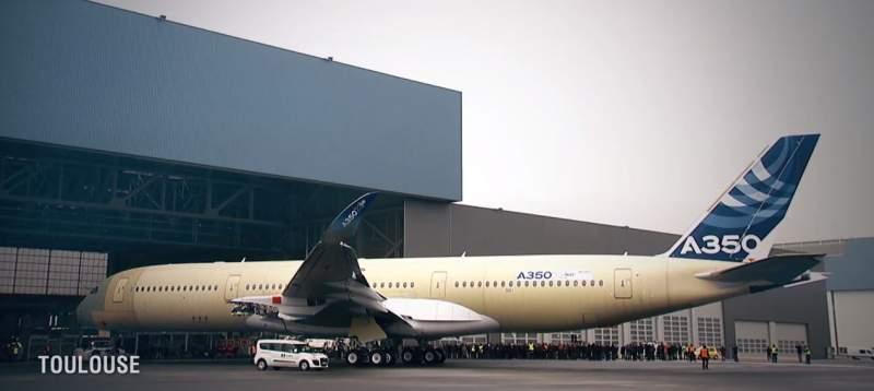 Airbus A350-900 à Toulouse