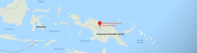 Découvrez l'aéroport de Kiwirok, doté d'une piste incurvée 1