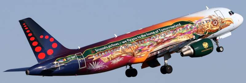 Brussels Airlines haute en couleurs ! 6