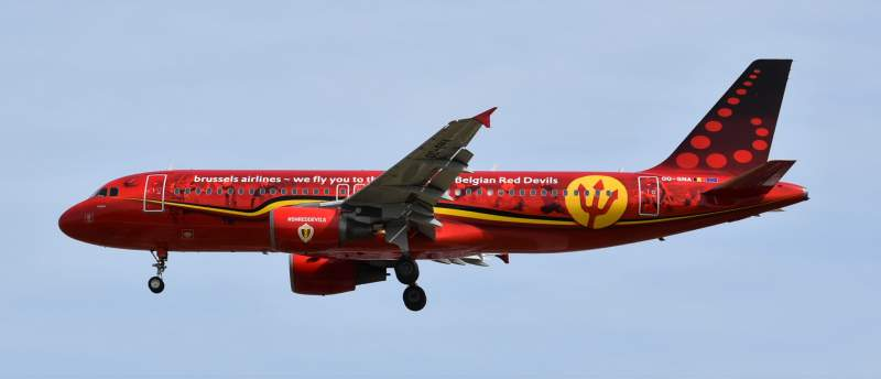 Brussels Airlines haute en couleurs ! 4
