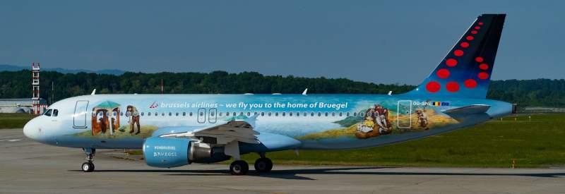 Brussels Airlines haute en couleurs ! 1