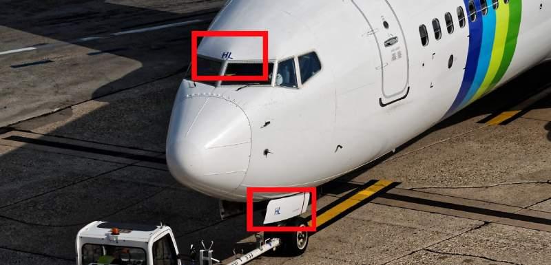 Boeing 737 au parking