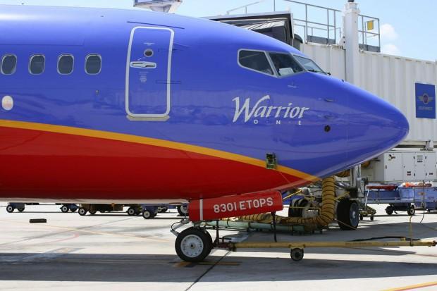 Avant d'un Boeing 737 ETOPS