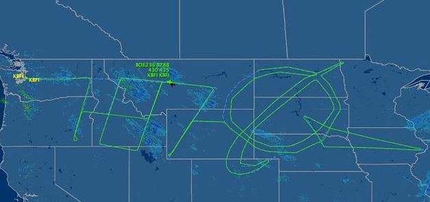 Quand des pilotes dessinent dans le ciel 12