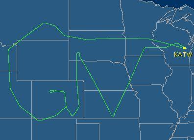 Quand des pilotes dessinent dans le ciel 26