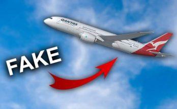 FAKE NEWS : Non, Qantas n'a battu aucun record historique en 787 8