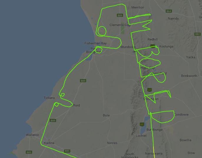 Quand des pilotes dessinent dans le ciel 22