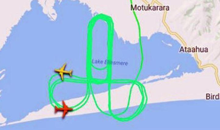 Quand des pilotes dessinent dans le ciel 24