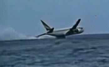 Boeing 767 qui s'écrase