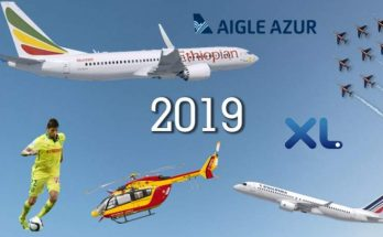 Illustration aviation 2019