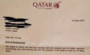 Non, Qatar Airways n'a pas viré une pilote à cause du Covid-19 3