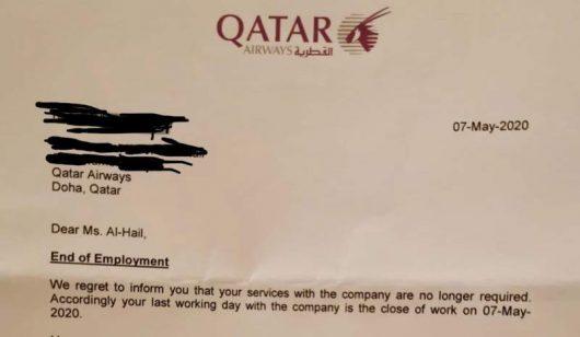 Non, Qatar Airways n'a pas viré une pilote à cause du Covid-19 2
