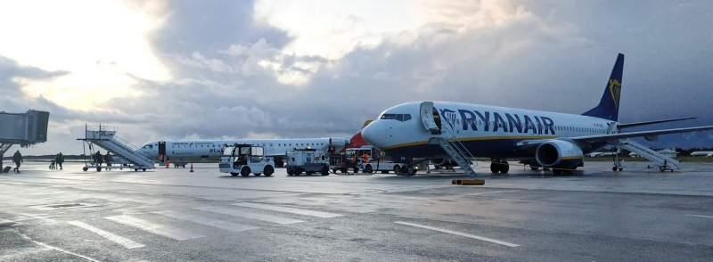 Avions sur aéroport de Bordeaux