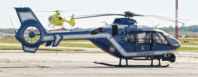 Hélicoptères samu et gendarmerie