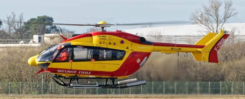 Hélicoptère de la sécurité civile