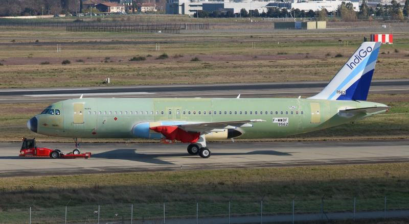 Airbus A320 non peint