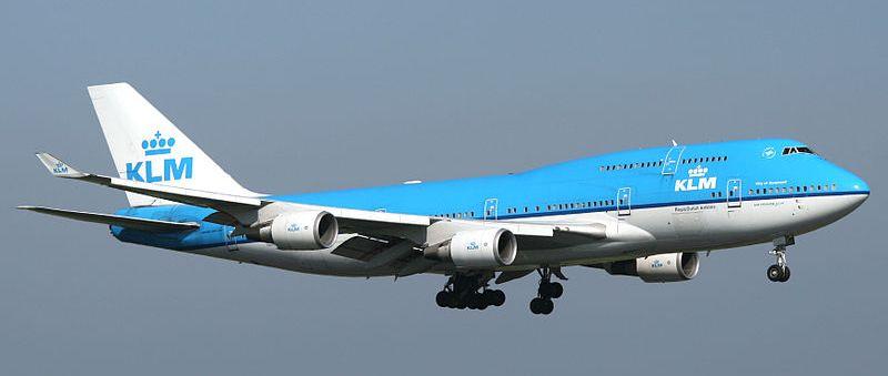Boeing 747 de la compagnie KLM
