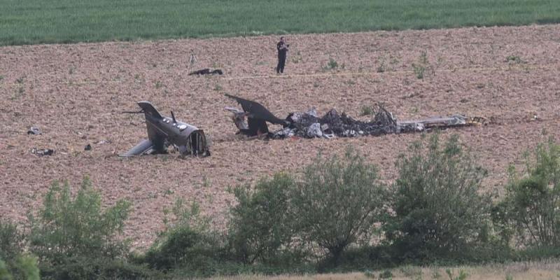 Crash d'un hélicoptère