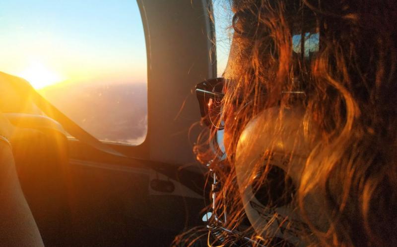 Pilote d'un avion léger