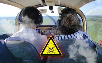 Cockpit d'avion léger